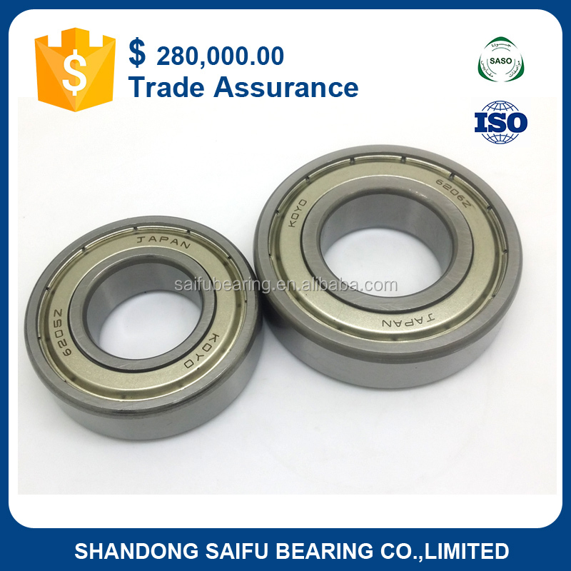 motorcycle deep groove ball bearing 6204ZZCM