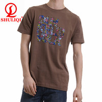 Full printing t shirt design and make and t shirts manufacturers china