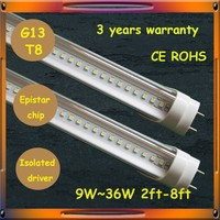 LED supplier for hone office lights 28w 1800mm 6ft led tube light