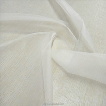 Silk Organza 6mm 100 raw silk fabrics roll for wedding dress