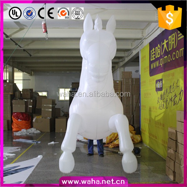 attractive inflatable performance costume horse,inflatable horse costume