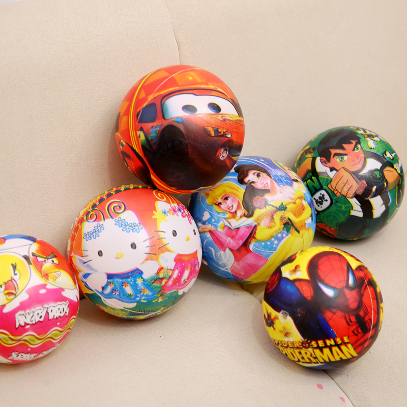 Beautiful Cartoon printing inflated pvc ball
