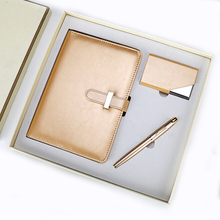 Promotion gift set with pen, notebook and name card