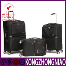 Manufacturer china 2016 popular fashion luggage bag with hidden wheels
