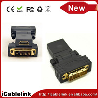 wireless DVI-D Male to 1.4 HDMI Female M-Faudio Adapter Converter For connecting HDMI Monitors, A/V Receivers, and HDTV