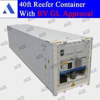 High quality 40 feet refrigerated container