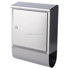 Home and garden Wall Mounted Stainless steel mail box Letter Box office mailbox