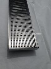 ISO 9001 Certificated Burshed stainless steel 304 outdoor drain cover
