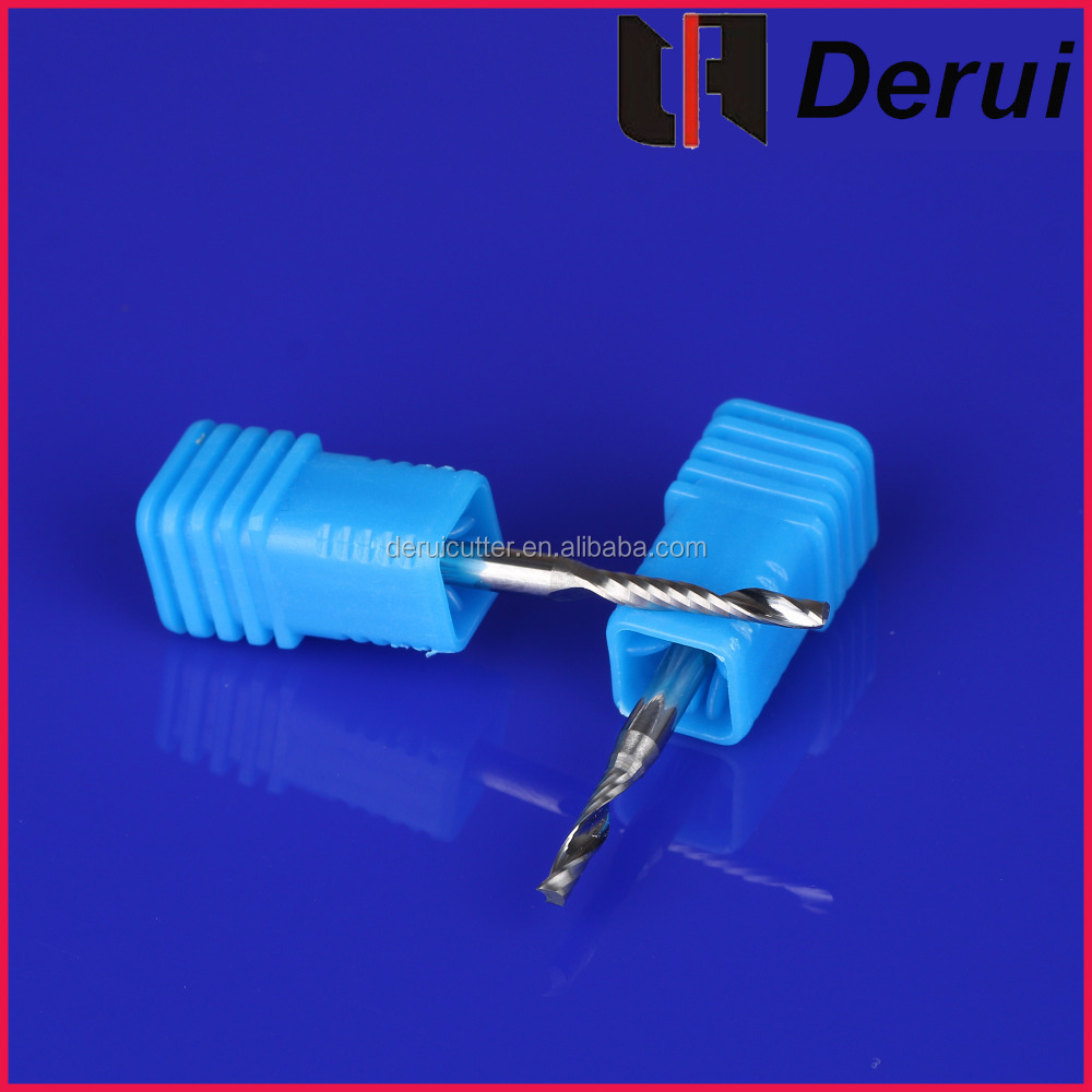 one flute spipal drill bit grinder/piling drill bit for acrylic and PVC
