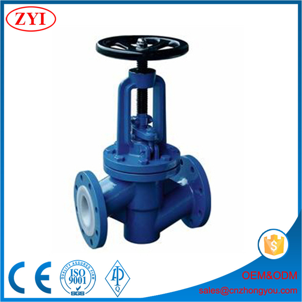 Forged Stainless Steel Cryogenic din globe valve/flange end valve