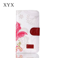 Magnetic flip design mobile phone painting design leather case cover for huawei shot x