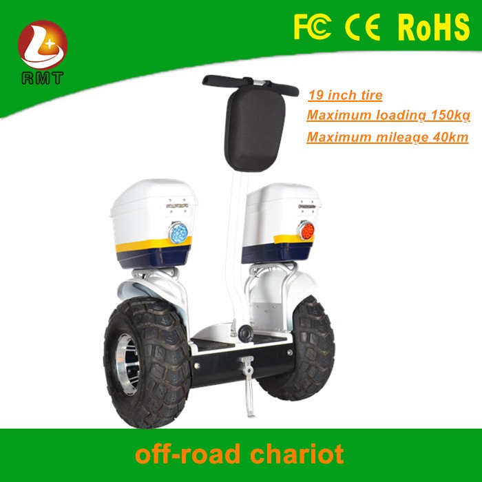 2016 Cheap electric off road chariot self balancing scooter with handle bat standing scooter hoverboard