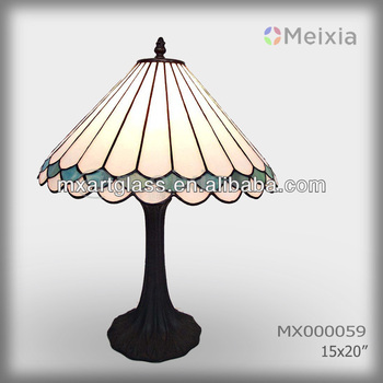 MX000059 wholesale tiffany style vitral desk lamp for home decoration