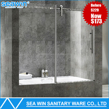 Anti-Scratch 10mm Tempered Glass Shower Screen