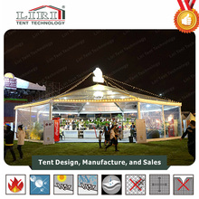Octagon Frame Tent / Hexagonal Aluminum Frame Pop Up Tent Canopy