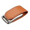 Logo Embossed Leather USB Fash Drive 8GB