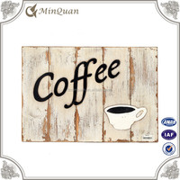 decoration coffee letter free sign , alphabet wood letter board