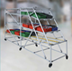 light weight aluminum warehouse pipe rack/storage pipe racking systems