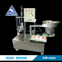 Small Powder Plastic Tube Filling And Sealing Machine For Silicone