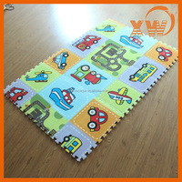 Best toys 3 year old cartoon jigsaw educational alphabet puzzle mat