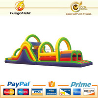 Top level hot selling inflatable obstacle course for infant