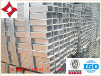 HDG greenhouse Galvanized Square steel pipe and fittings in Tianjin Xiushui