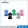 Colorful Mini Dog Bone Style USB Memory Disk 2GB 4GB 8GB 16GB Silicone USB Flash Drive USB 2.0 Thumb Disk with Metal cans