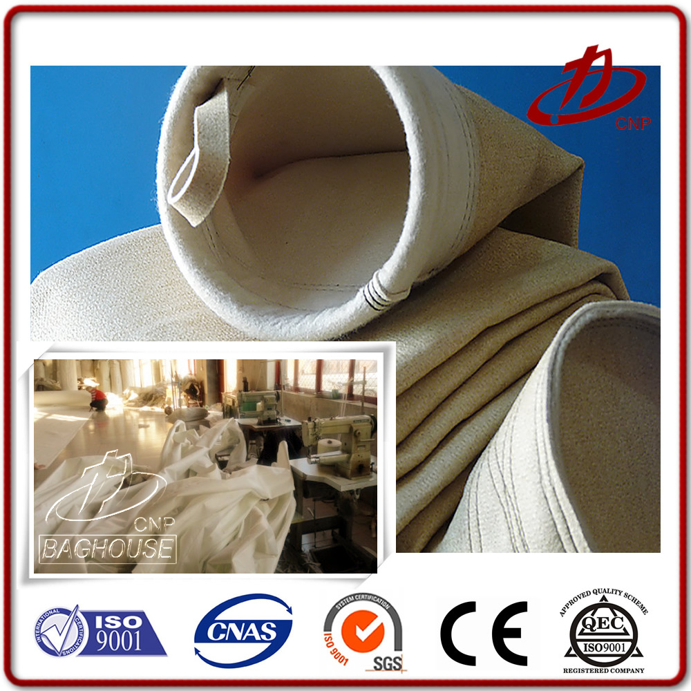 High quality Eco-friendly air filter bag for cement industry