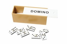 Fancy Board Game Domino Wood Game Set