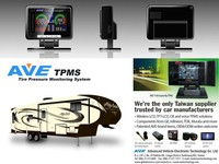 Made in Taiwan Vans Accessary Tire Pressure Monitoring System TPMS for Alfa