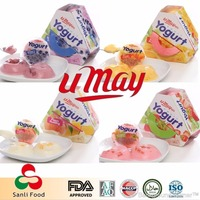 Confectionery Assorted Yogurt Pudding Jelly Nata de Coco Snack Food in Taiwan
