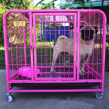 cheap purple xxl metal tube modular kennel dog cage malaysia