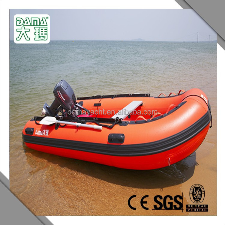 pvc or hypalon sport boat inflatable