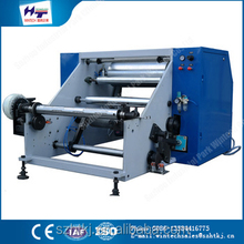 Hot selling HT-600MM aluminum foil cutting & rewinding& slitting machine