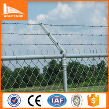 diamond razor wire mesh fence/diamond wire mesh fence/chain link fence