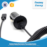 Mobile Phone Use and USB Type car charger with cable