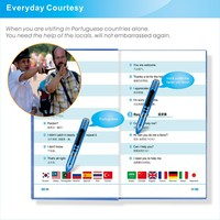 14 language translate reading pen with variety of scene dialogue book