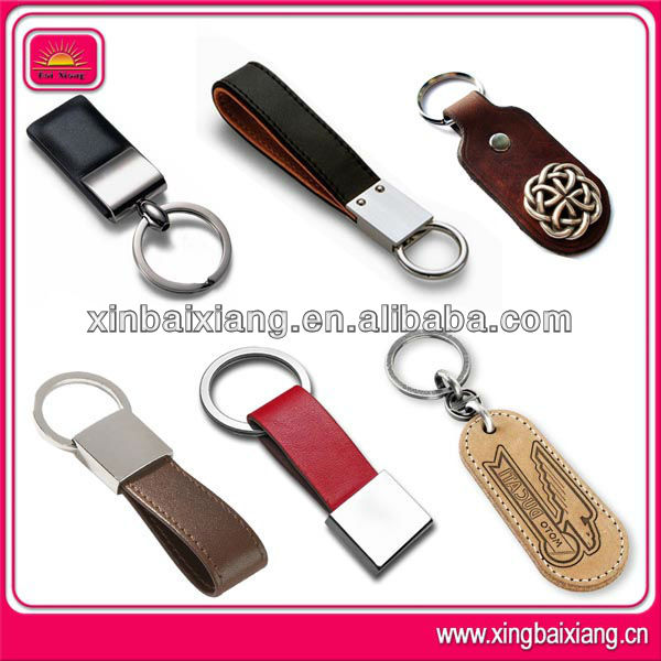 Promotional Blank Leather Key Chain