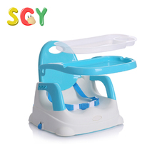 SCY C001 Portable Baby High Chair Infant Toddler Feeding Booster Folding chair PP Pink/Blue/Green NO tool 1pcs