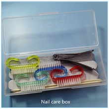 nail care tools box disposable manicure set pedicure kit for nail salon