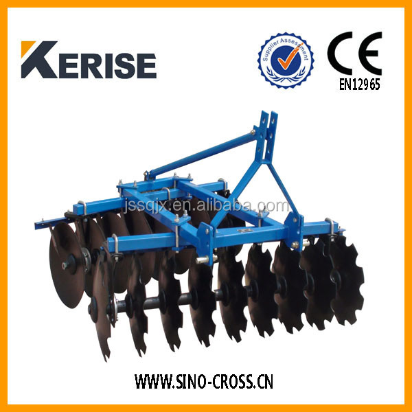 Factory supply middle duty disc harrow for tractor
