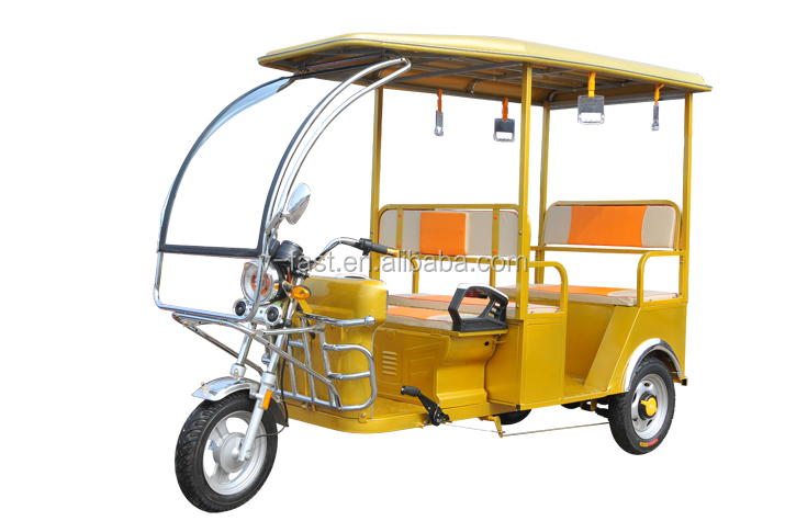 2017 NEW ELECTRIC RICKSHAW FOR PASSENGERS BATTERY OPERATED ELECTRIC TRICYCLE FOR INDIA MARKET