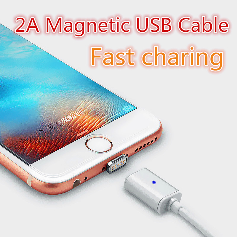 USB magnetic adapter charger aluminium alloy mircro USB cable for smart phone magnetic usb cable