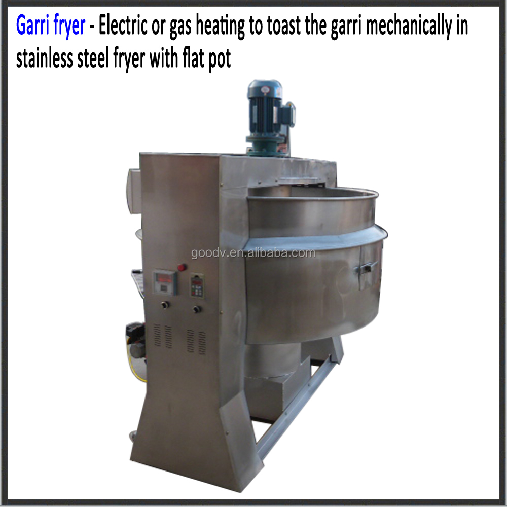 Electric driven cassava machine gari hot sale in Nigeria