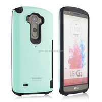 Special design Luxury Armour Hard Back Hybrid Colorful Shell Case insert card Cover for LG G3