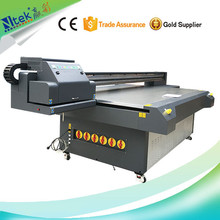 Manufacture supply large format stable performance digital uv flatbed printer for acrylic board / corrugated paper printing
