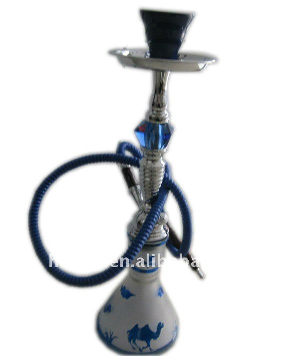 Medium hookah with crystal