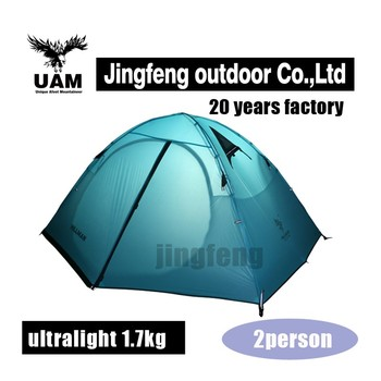 Outdoor tent for 3 person family camping tent dome tents