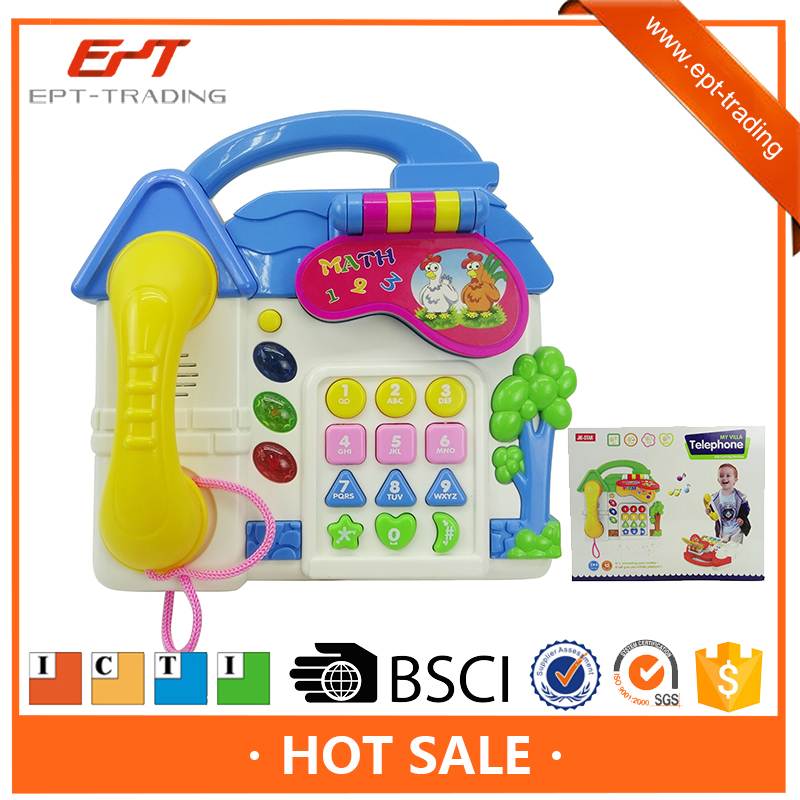 Top quality kids intelligent villa smart musical phone toys
