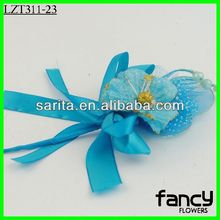 Artificial colorful decorative stocking flowers